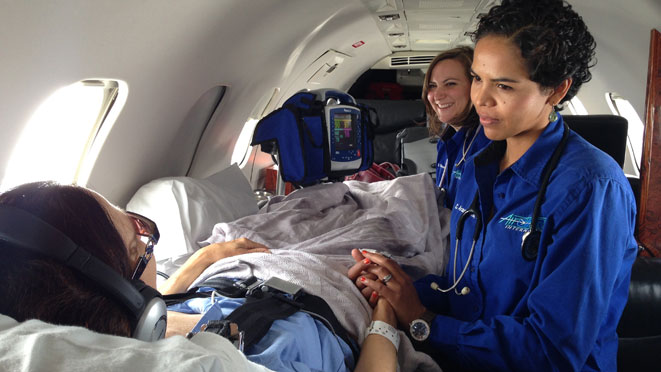 nurse bedside Air Medical Transport: Everything You Need To Know