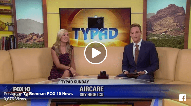 AirCARE1 Featured on Fox 10 News